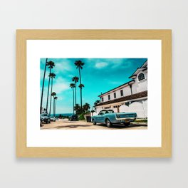 California dreaming x Framed Art Print