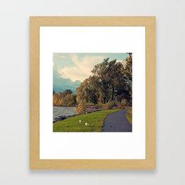 Lachine Bord de L'Eau Framed Art Print