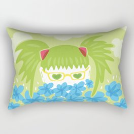 Waiting For Spring Rectangular Pillow