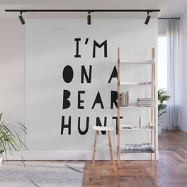 Beard Boy: I'm on a bear hunt Wall Mural
