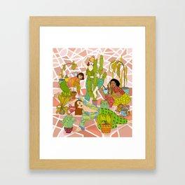 Succulent Success Framed Art Print