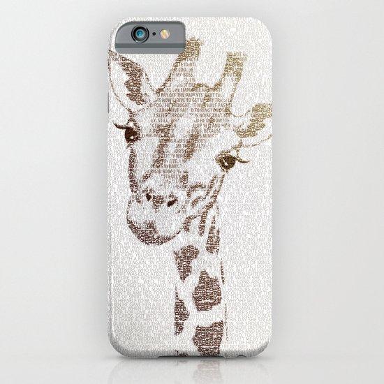 The Intellectual Giraffe iPhone & iPod Case