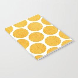 yellow polka dots Notebook