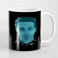 tyler durden Mugs featuring Fight club - tyler by Dr.Söd