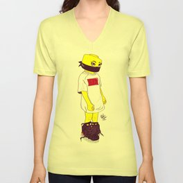 Lego Girl Unisex V-Neck