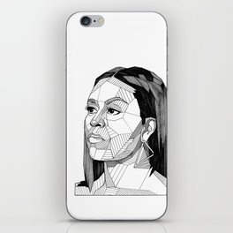 Michelle Obama iPhone Skin