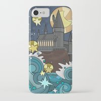 hogwarts iPhone & iPod Cases featuring Hogwarts by Lacey Simpson