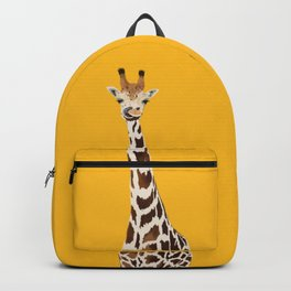 The Nose-picking Giraffe (no fingers needed) Backpack