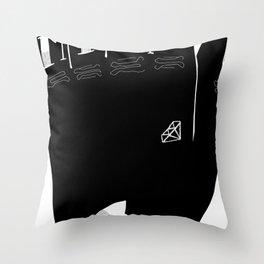 Tea Lover Throw Pillow
