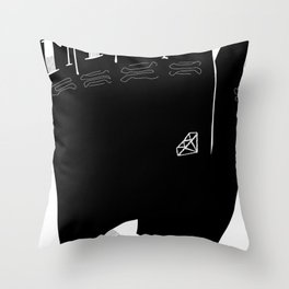 Tea Lover Throw Pillow