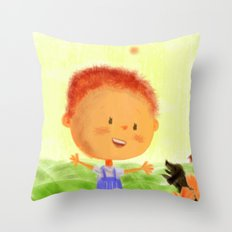 Happinness Throw Pillow