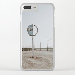 road to nowhere Clear iPhone Case