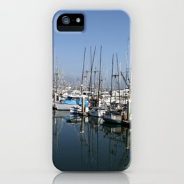 Harbor At Half Moon Bay iPhone Case
