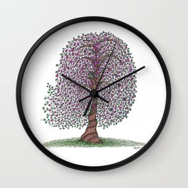 A tree of legend Wall Clock