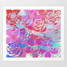 floral print 1 Art Print