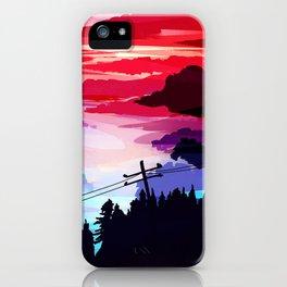 80's Sky iPhone Case
