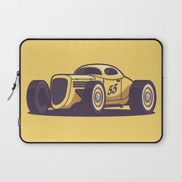 GAZ GL1 Custom Vintage Hot Rod Classic Street Racer Car - Yellow Laptop Sleeve