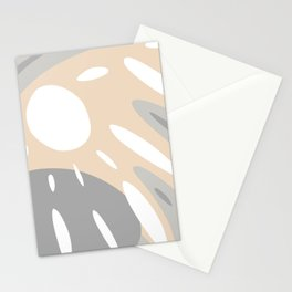 Organic Cozy Natural Muted Colors Shapes Stationery Cards