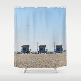 Venice Beach Views Shower Curtain