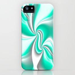 Turn Around (green) iPhone Case
