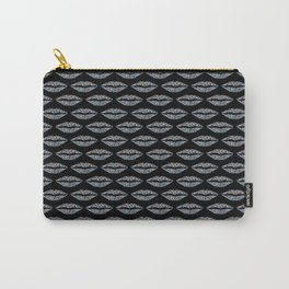 Glowing lip pattern Carry-All Pouch