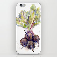 Purple Beets iPhone & iPod Skin