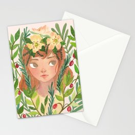 Herbs and Wildflower Nymph Stationery Cards