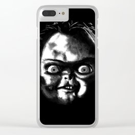 Friend Till the End Clear iPhone Case