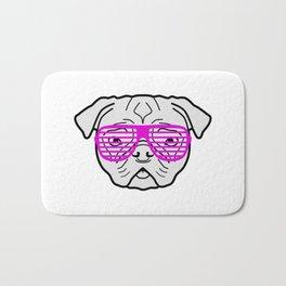 Hipster Puppy Bath Mat