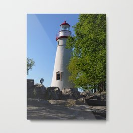 Lighthouse 2 Metal Print