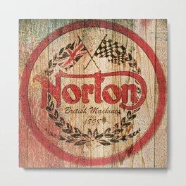 Norton Metal Print