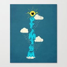 Yay for Optimism! Canvas Print