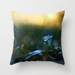 The Incendiary Forest Throw Pillow