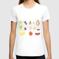 fruits T-shirts featuring fruits by Ewa Pacia
