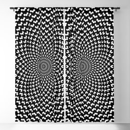 Illusion of Choice Hypnotic Pattern Blackout Curtain