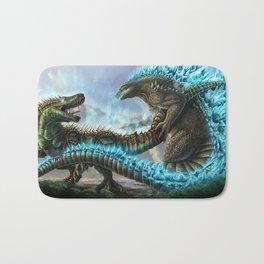 Godzilla VS. Atomic Rex Bath Mat