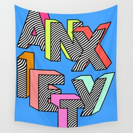 Anxiety Wall Tapestry