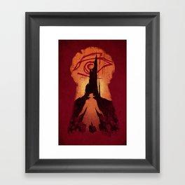 He Followed Framed Art Print