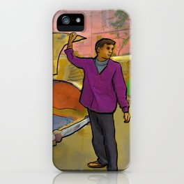 Kolkata Taxi iPhone Case