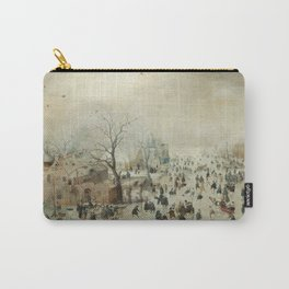 Hendrick Avercamp - Winter Landscape Carry-All Pouch