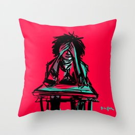 The Transgression Edict Throw Pillow