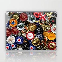 Beer Bottletops Laptop & iPad Skin