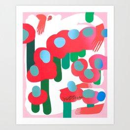 Let The Bushes Bloom Art Print