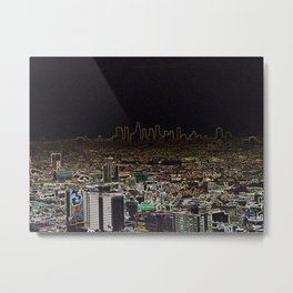 City of Inverted Dreams Metal Print