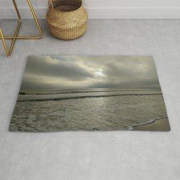 A Cloudy Beach Rug