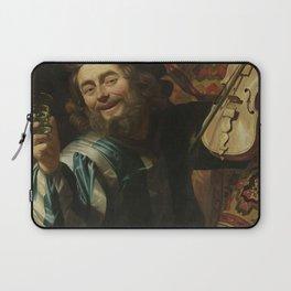 Gerard van Honthorst - The Merry Fiddler Laptop Sleeve