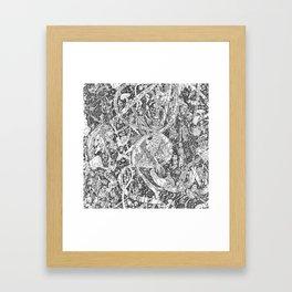MMav Pillow 2. Framed Art Print