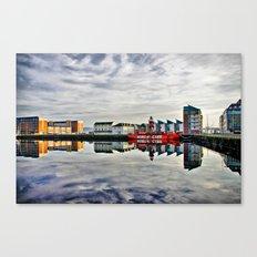 Carr Light Ship Dundee Tayside Canvas Print