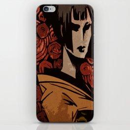Kimono III iPhone Skin