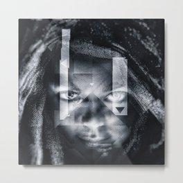 Artistic CIV - Dark wwWeb I Metal Print